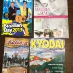 A selection of Brazilian and Latin American Nikkeijin publications